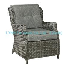 Außen-Hotel-Sessel runder Rattansofa-Stuhl