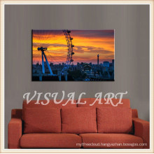 Modern Wall Art London Eye Art Paintings for friends gift