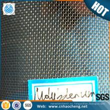 Proceso de alimentos 50 tela de malla tejida de malla de alambre de molibdeno puro 50 300 micras
