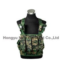 Военный безопасности цифровой камуфляж тактический жилет груди (HY-V061)