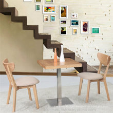 Hot Sale Wooden Table and Chair Set with Cushion (SP-CT635)