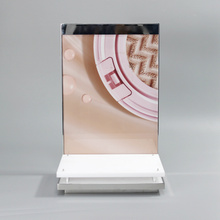 Clear&Black&White Acrylic Mascara Display