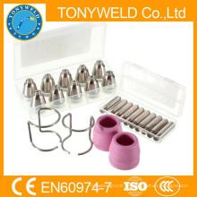 24 PK Schneidbrenner Teile Kits von AG60 SG55 Luft Plasmaschneider