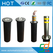 Manual Pengaman Retractable Bollard dengan Base Plate