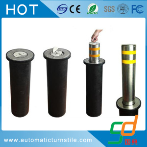 Manual Retractable Bollard  (Stainless steel is optional)