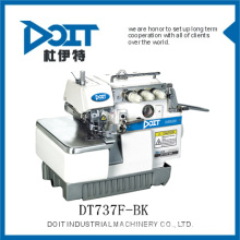 durable three thread back latchingg sewing overlock sewing machine DT737F-BK