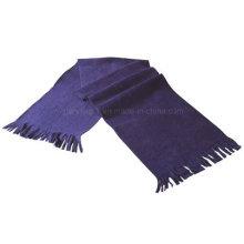Обычный спортивный шарф из поленой шерсти с бахромой