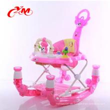 Sicherheit confortable Gummirad-Babywalker mit Bremsen / einzigartigem Babywandererpreis