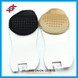 Women's Sheer Nylon Toe Liner Socks with Cushion Sole