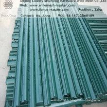 Message de clôture métallique