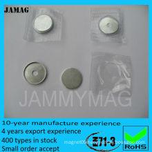 magnet buttons transparent 15mm