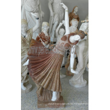 Статуя скульптуры каменного мрамора скульптуры для украшения сада (SY-C1298)