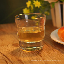 High White Old Fashioned Double Ring Whisky Glass