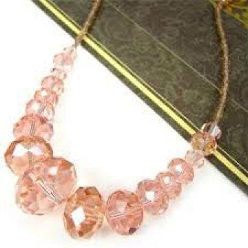 Schwimmende Kristallhandwerk Halskette