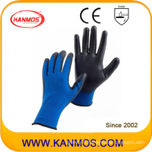 Industrial Hand Safety Nylon Knitted PU Coated Work Gloves (54004)