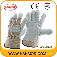 Кожаные рабочие перчатки для промышленной безопасности (110073)