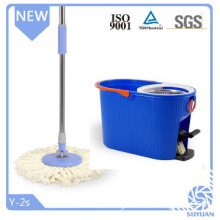 360 rotating spin mop with stainless steel bucket by GSG TUV