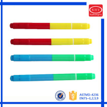 Hot selling non-toxic rainbow colors mini neon marker for promotion
