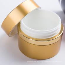 Hochwertiges mehrfarbiges Acryl-Kosmetikverpackungs-Cremeglas