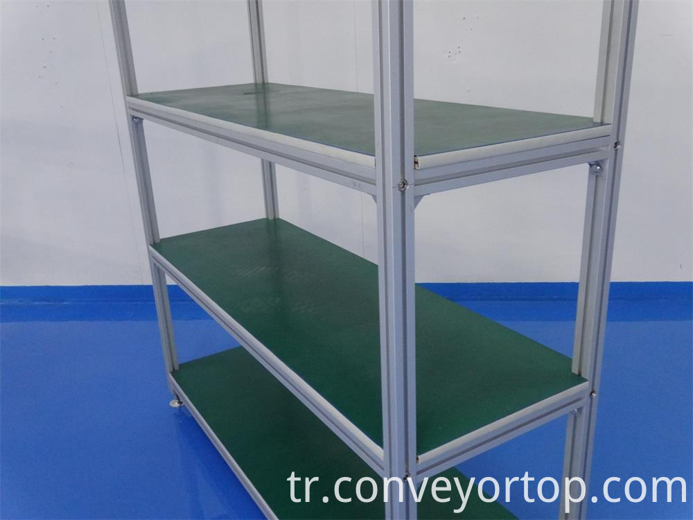 Storage Shelf Assembly Line