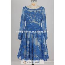 Дешевые Короткие Мать Вечерние Платья Кружева Свадебное Платье