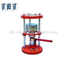 Extrusor manual de la muestra del suelo hidráulico del extrusor de T-BOTA