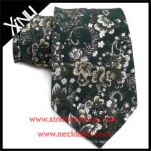 Le jacquard fait main fait par noeud fait sur commande a fait le concepteur fait sur commande de cravate de cou de soie 100%
