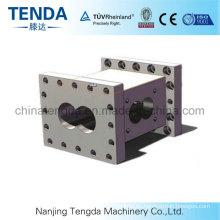 Schraube und Zylinder für Kunststoff-Extrudermaschine / Schraubenelement