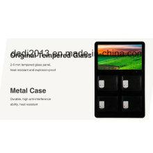 21,5-дюймовый Android настенный мобильный телефон Зарядная станция Locker Display Зарядка рекламной машины