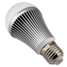 Diámetro 60mm 7W bombillas luz llevó focos E27 con precio barato CE RoHS