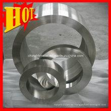 Anillo de titanio de tamaño personalizado Gr2 con alta calidad
