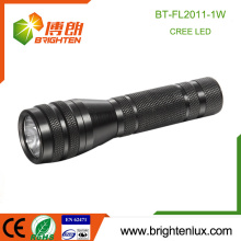 Factory Hot Sale Best Metal Material 1*AA Cell Operated Powerful Portable 1w cree led Small Flashlight Torch
