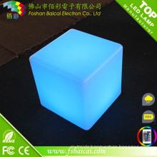 LED Furniture RGB LED Cube Table Light/ RGB Decorative LED Cube Light RGB Outdoor Seat LED Cube