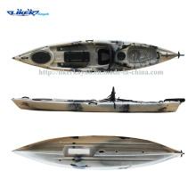 Angler LLDPE Rumpf Fischen Kajak Fischerboot, sitzen auf der Oberseite