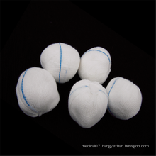 100% Cotton Medical Disposable Absorbent Gauze Ball