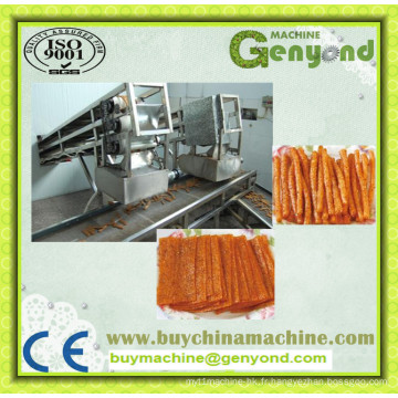 Tofu sec épicé faisant la machine