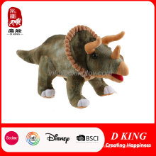 Customized Educational Kids Toy Emulational Triceratops Toy