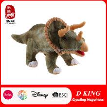 Brinquedo educacional personalizado do Triceratops do brinquedo educacional das crianças