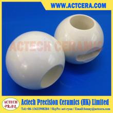Точность обработки циркония Керамическая шаровой клапан