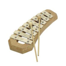 Wooden Xylophone--Musical Toys with 2 Beaters