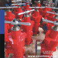 API 6A Plate Gate Valve for Oilfield /Tubing Head/Casing Head/Manifold