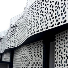 Architectural Aluminum Cladding Perforated Panels