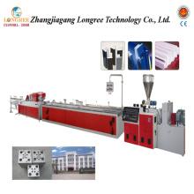 Línea de producción de perfil de extrusión de plástico Línea de extrusión de perfil de PVC