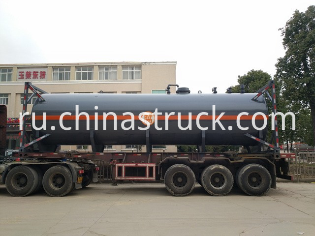 30FT ISO Hydrochloric Acid Tank Container picture