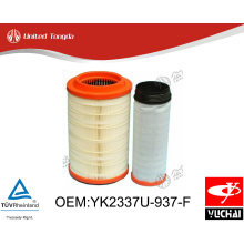 YK2337U-937-F Original Yuchai engine air filter for Chinese truck