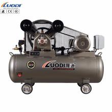 Compresor de aire impulsado por correa de la industria eléctrica del pistón del coche de 2hp 100L