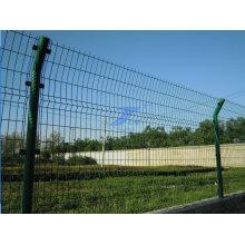 Jardín de malla de alambre de esgrima con el poste redondo (TS-L04)