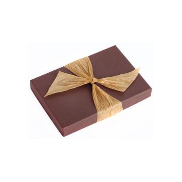 Boîte d'emballage en papier personnalisée chocolat personnalisée