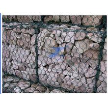 Gaviones de malla de alambre hexagonal recubiertos de PVC 2X1X1m