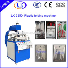trial fold blister folding machine for edge rolling